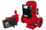 In-Line-Centrifugal Pumps with Inverter