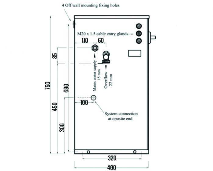 lowara presfix beta 228 twin pump max f/p 28 bar 1 230v