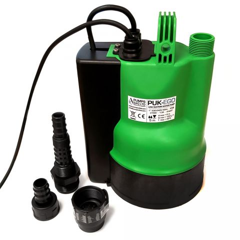 Low Suction Water Pump Complete Set.