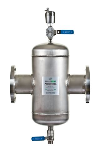 100mm - Cleanvent - Air/Dirt Separator