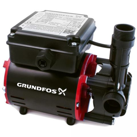 Grundfos SSR2-2.0 C (22mm Pushfit Hose) Shower Pump