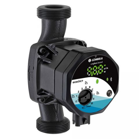 Lowara Ecocirc S+ 15-4/130 - Premium Variable Speed Circulator (1~ 230V)
