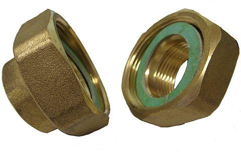 Lowara Brass Pipe Union Kit 1 to 1 1/2 Inch