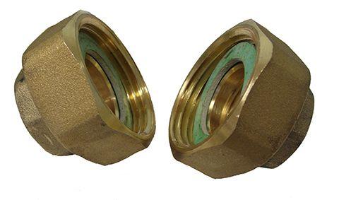 Lowara Brass Pipe Union Kit 1/2 to 1 Inch