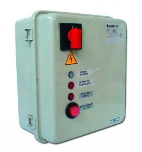Lowara QDR/22 Control Panel