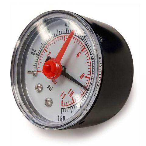 1/4″ 160 PSI Pressure Gauge - Back