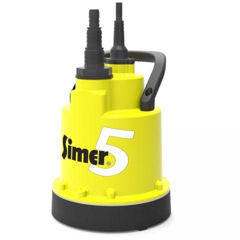 Jung Pumpen Simer 5 - Low Suction Submersible Utility Pump (1~ 110V)