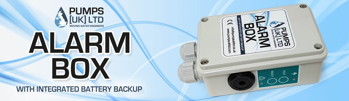 PUK Alarm Box with battery backup and 90db Siren
