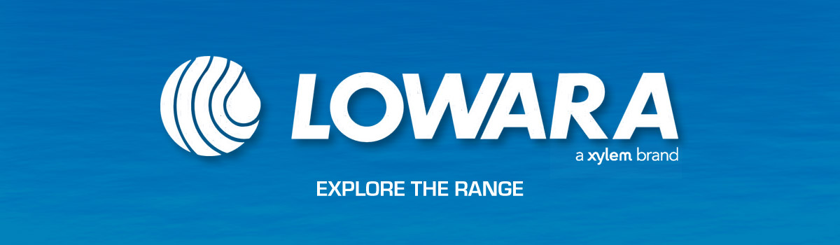 Lowara Water Pump Range including ABS