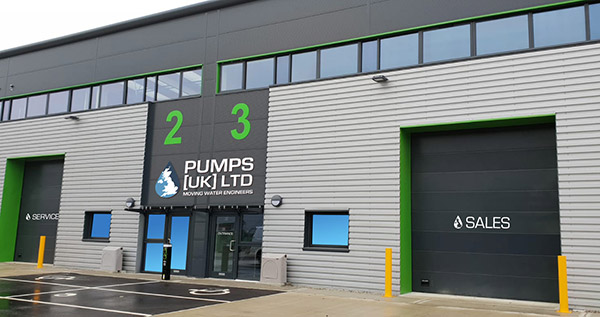 New Pumps UK Building in Rochester.